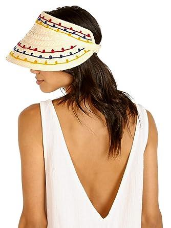 420052f9 Brixton Women's Bondi Visor, Tan, One Size at Amazon Women's Clothing store: