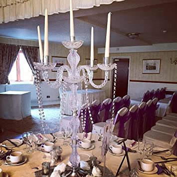 Amazon De Everbon Set Von 10 Hochzeitsdekorationen Tischdekoration