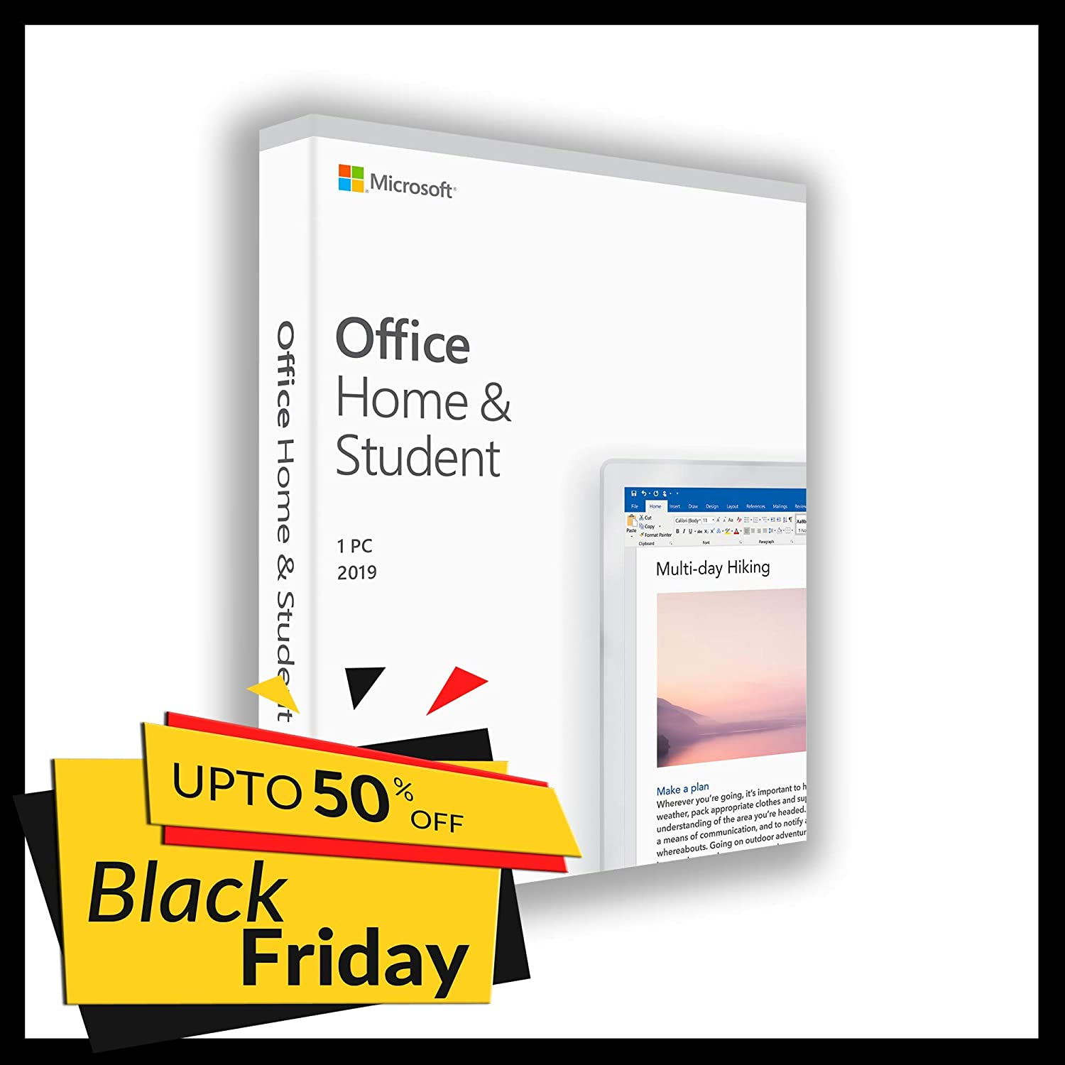 Office 2019 Home & Student | Only 1 PC (Only Windоws 10) | 1 user | Box | New | Original