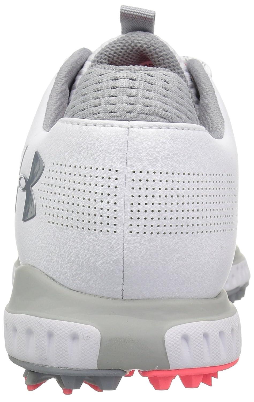 Under Armour Women's Fade RST Golf Shoe B072BXTP2H 8 M US|White (100)/Overcast Gray