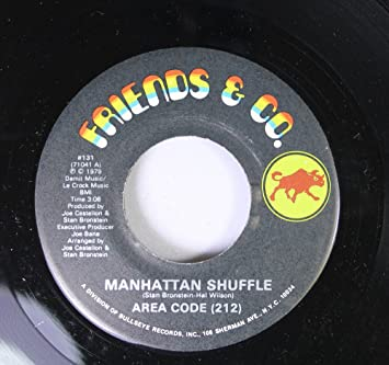 Amazon.com: AREA CODE (212) 45 RPM MANHATTAN SHUFFLE / DADDY ...