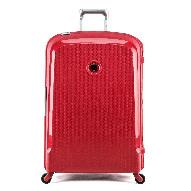 Delsey Valise Belfort 42 cm 42 L (rouge) 42: Amazon.fr ... - Valise Rouge