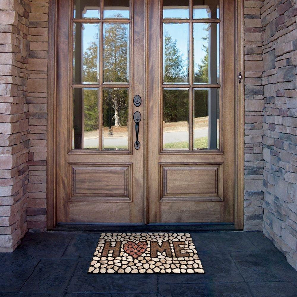 welcome front door mats