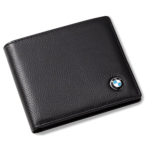07984ab84a BMW Bifold Wallet with 3 Credit Card Slots and ID Window - Genuine Leather   Amazon.ca  Jewelry