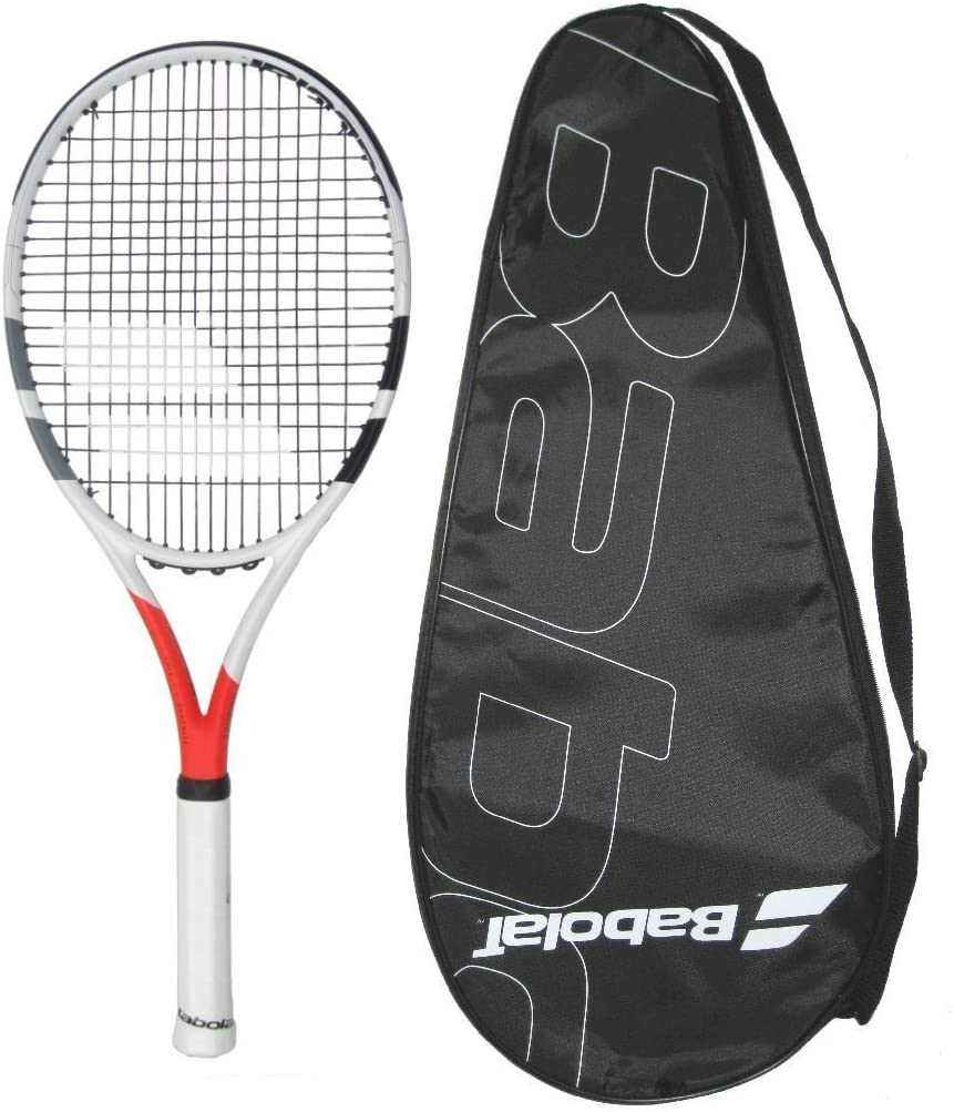 Babolat 2019 Boost Strike Tennis Racquet – STRUNG with COVER 4-3 8