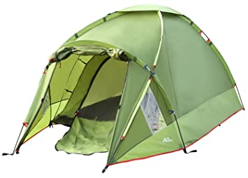 MoKo Waterproof Family C&ing Tent Portable 3 Person Outdoor Instant Cabin Tent 4-  sc 1 st  Amazon.com : four season family tent - memphite.com