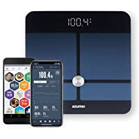 Azumio Smart Weight and Body Fat Bluetooth Digital Scale with App - Apple Health Compatible
