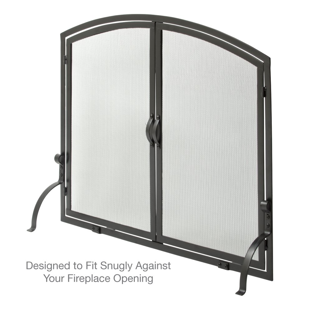 Amazon Uniflame S 1062 Medium Single Panel Black Wrought