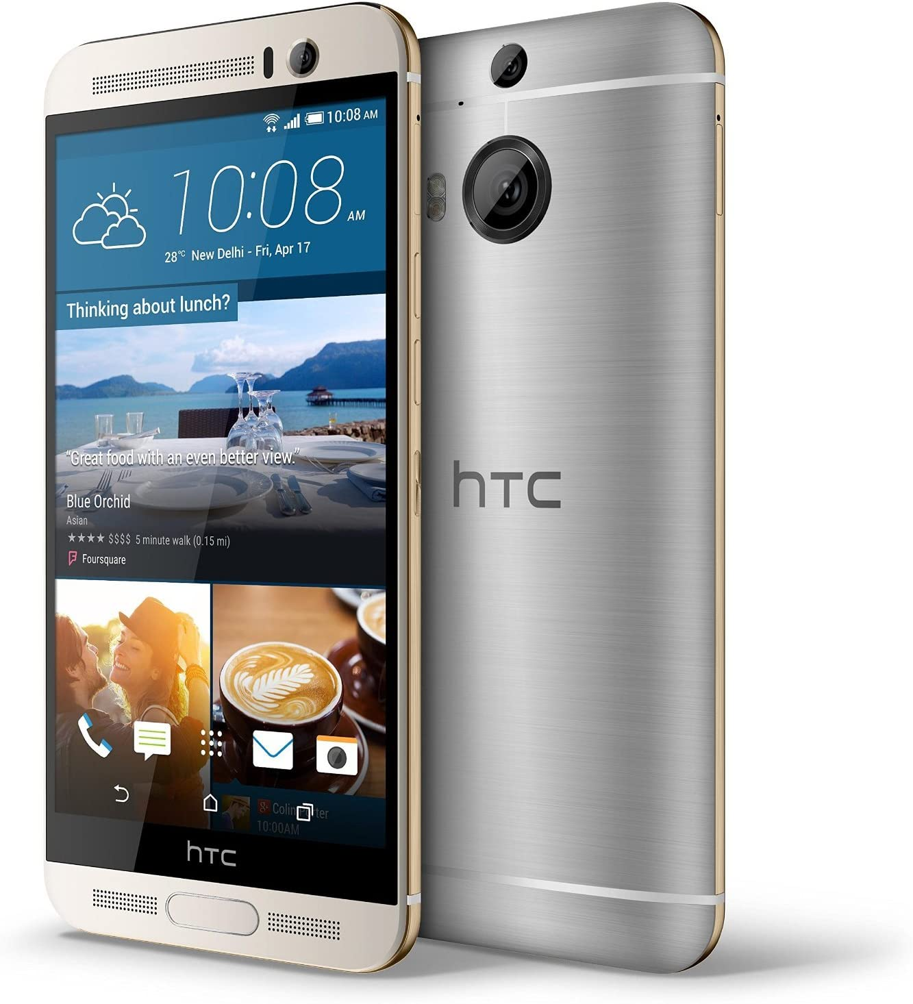 HTC One M9+ Plus 32GB Gold on Silver, 5.2