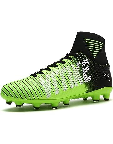 separation shoes 9d15b e2690 ASHION Zapatillas de Fútbol Unisex Niños FG High-Top Botas de Fútbol