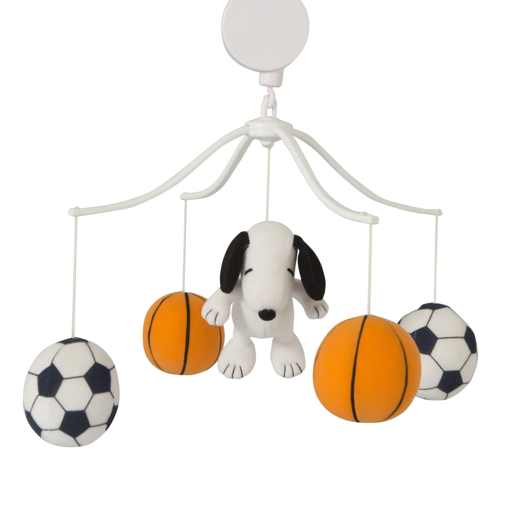 Bedtime Originals Snoopy Sports Musical Mobile by Bedtime Originals