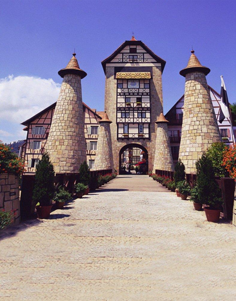 Stone House Building 写真撮影用背景 写真小道具 スタジオ背景 5x7フィート   B01HRT28J2