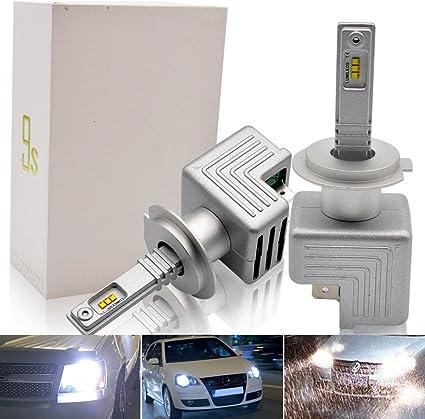 H7 H7 H8 501 55w Super White Xenon HID High//Low//Fog//Side Light Bulbs