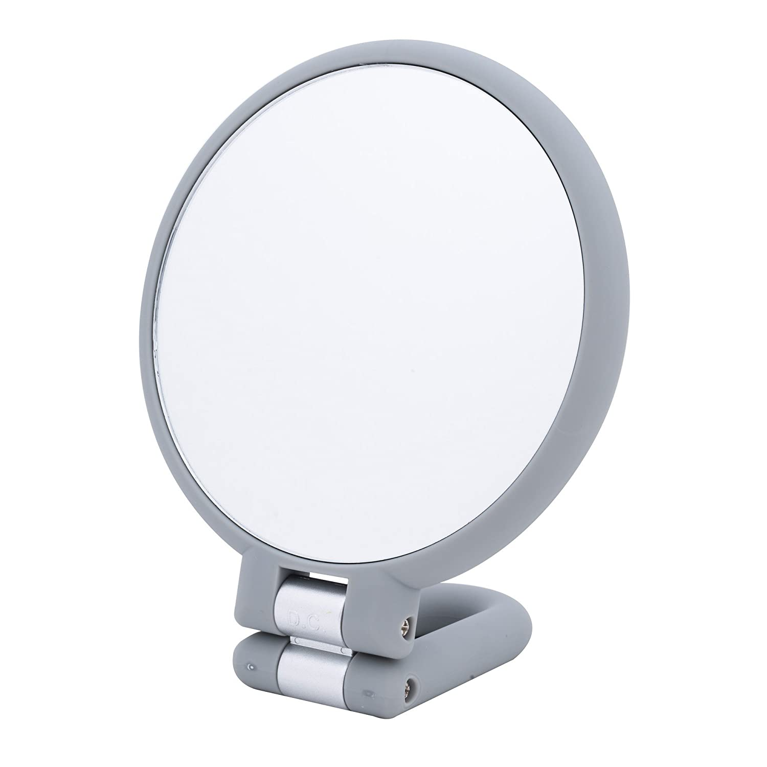Danielle 15x Magnification Folding Makeup Mirror Clear Acrylic