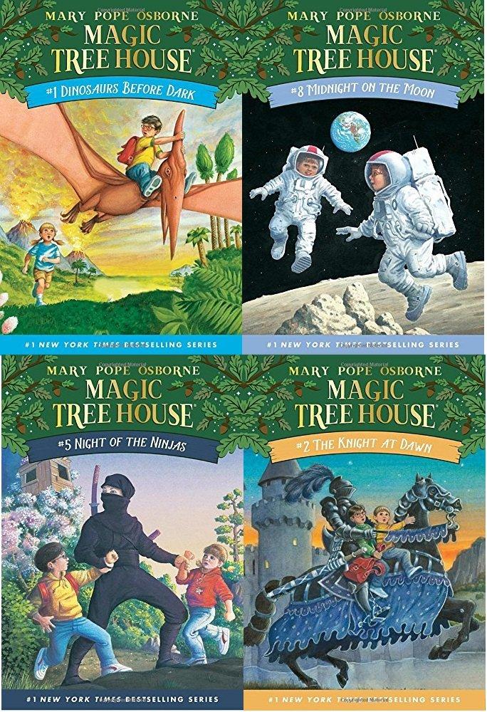 Magic Tree House Set, Books 1-8 ebook