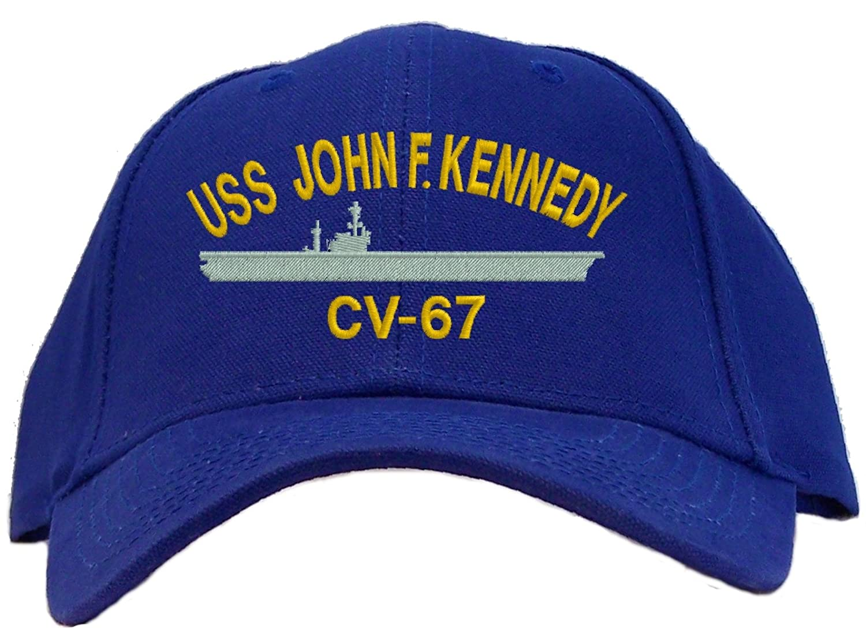 Amazon USS John F Kennedy CV 67 Embroidered Baseball Cap