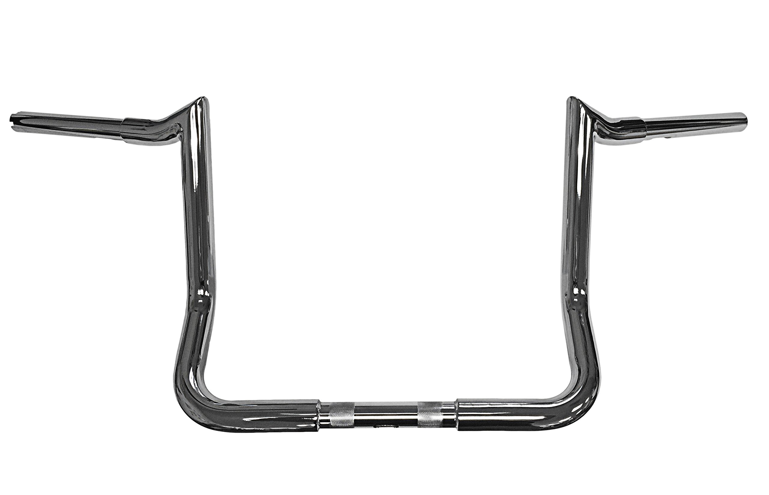 Dominator Industries 1 1/4'' Chrome 13'' Meathook Monkey Bar Ape Hangers Handlebars 1996-2018 Harley-Davidson Bagger Electra & Street Glide wABS BC-HC-BB16GB-ESG08-ABS-BC