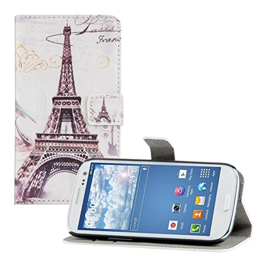 706 opinioni per kwmobile Custodia portafoglio per Samsung Galaxy S3 / S3 Neo- Cover a libro in