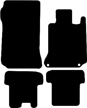 5mm Rubber Black with Black Trim Connected Essentials CEM550 Car Mat Set