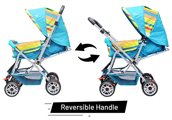 R for Rabbit Lollipop Lite - The Colorful Baby Stroller and Pram for Baby/Kids(Multicolor)