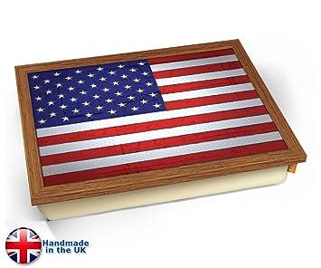 Amazon.com: KICO Estados Unidos Copa del Mundo bandera cojín ...
