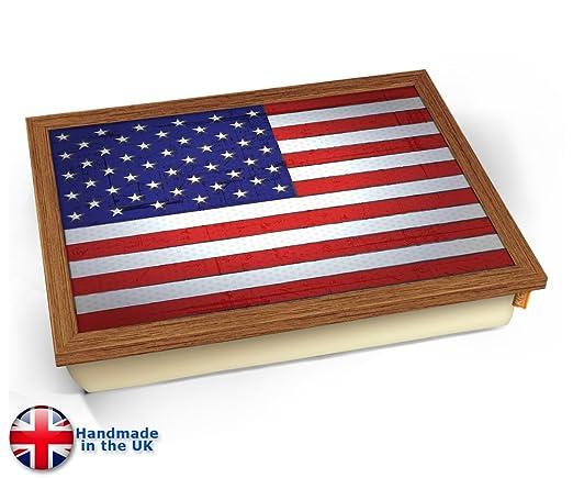 KICO USA World Cup - Bandeja de cojín con diseño de Bandera ...