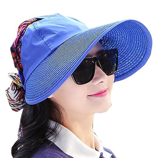 Sunscreen sun hat Visor hat Anti-UV (Bao blue) at Amazon Women s ... 4c93c8a036f8