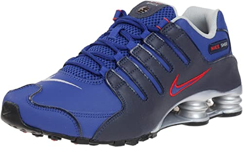 Nike Herren Shox NZ EU Turnschuhe, Blau, 39: