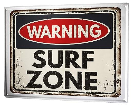 LEotiE SINCE 2004 Cartel Letrero de Chapa Deportes Surf Zone ...