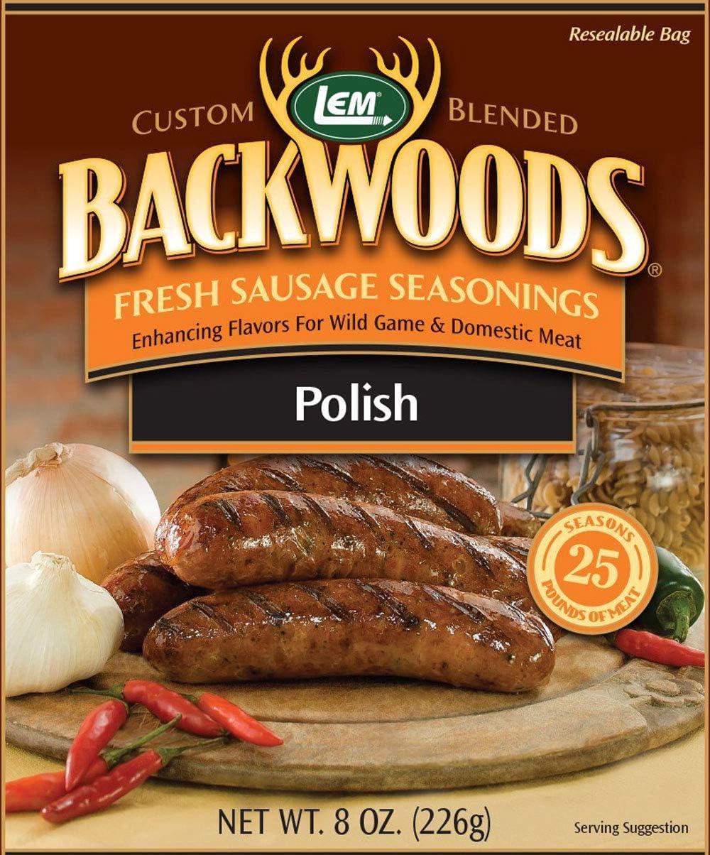 LEM Backwoods Polish Fresh Sausage Seasoning