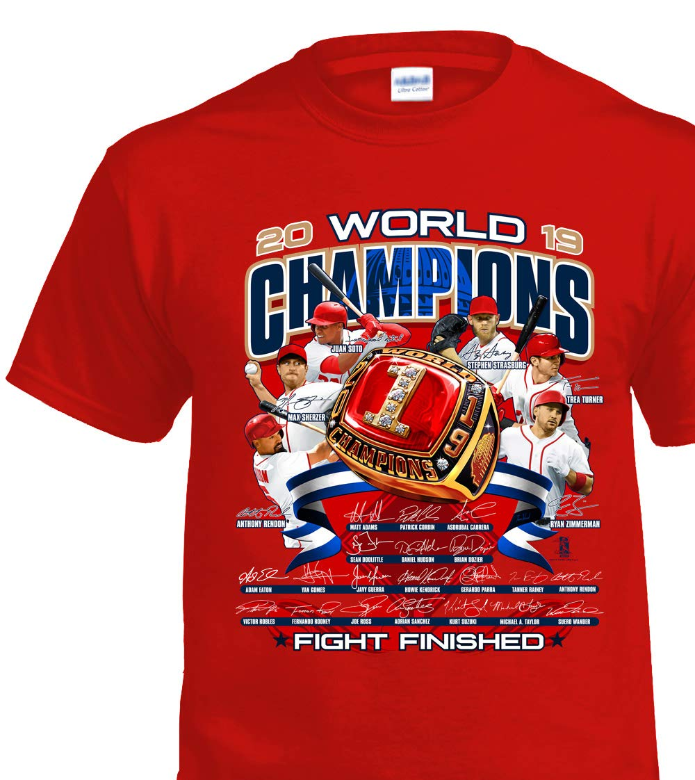 Fans Only Washington World Champs Ring T-Shirt