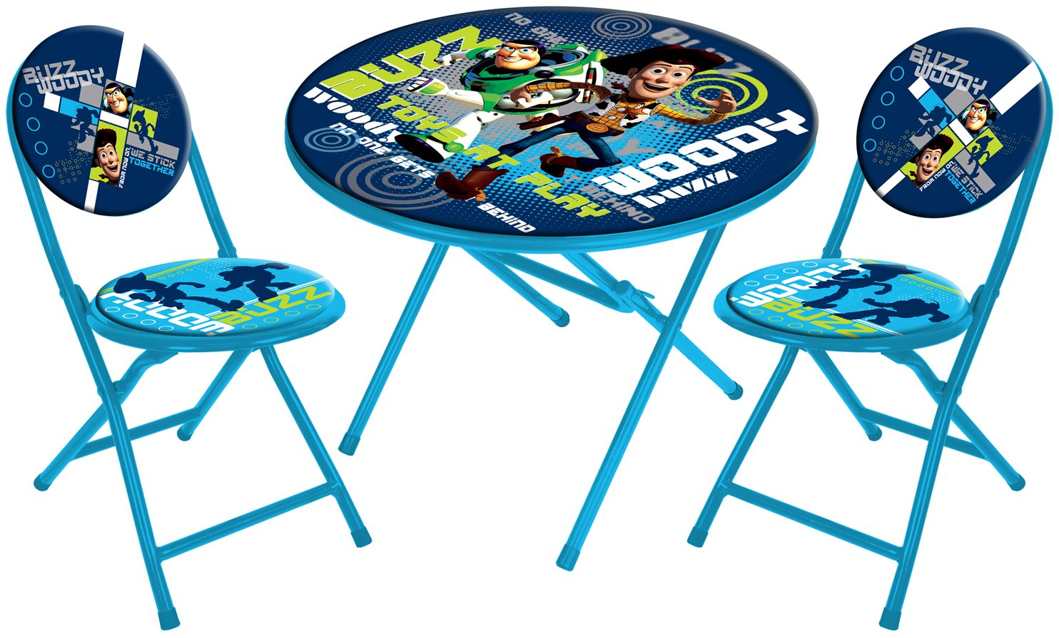 Amazon Disney Toy Story Round Table and Chair Set 3 Piece