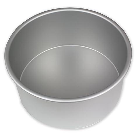 PME Molde para Pastel Redondo de Aluminio Anodizado Profundidad de 7 x 4-Pulgadas