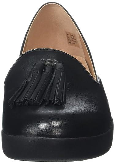 Fitflop Tassel Superskate D'Orsay Loafers, Mocasines para Mujer, Rosa (Dusky Pink 535), 36 EU