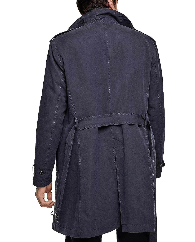 98109b66 Zara Men's Water-Repellent Trench Coat 2753/420: Amazon.co.uk: Clothing