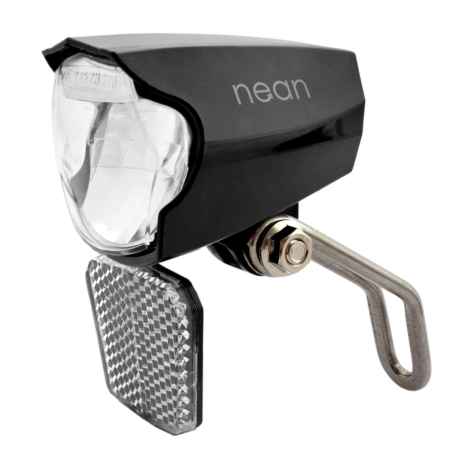 5 candela large area reflector StVZO approval NEAN bicycle dynamo rear light with parking light
