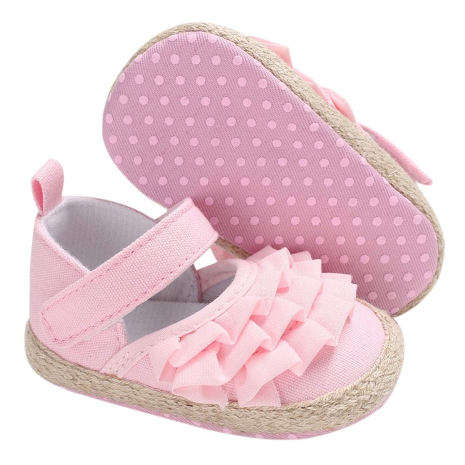 Fralina Newborn Baby Shoes Autumn//Spring Lace Baby Girls Shoes First Walkers Soft Bottom Girl Shoes