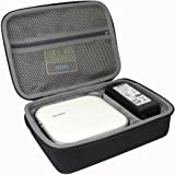 Hard Travel Case for DYMO MobileLabeler Bluetooth Smartphone Connectivity Label Maker (1982171) by co2CREA