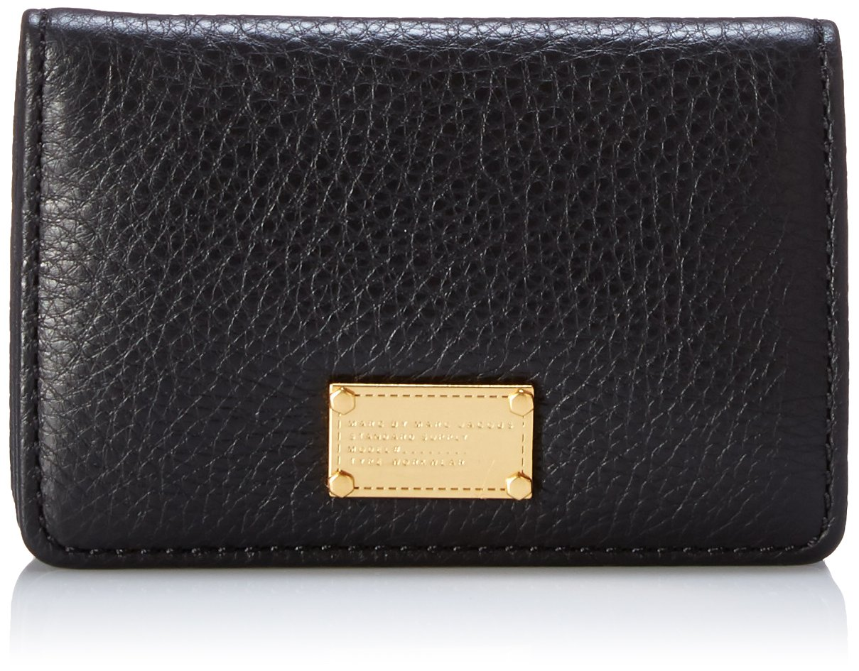 Marc by Marc Jacobs Classic Q Business Card Case Card Case, Black, One Size