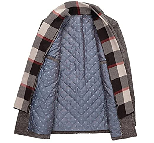 Amazon.com: uygmxdnxg Mens Fashion Lapel Scarf Wool Single Breasted Windbreaker Off The Collar Leisure Parke: Clothing