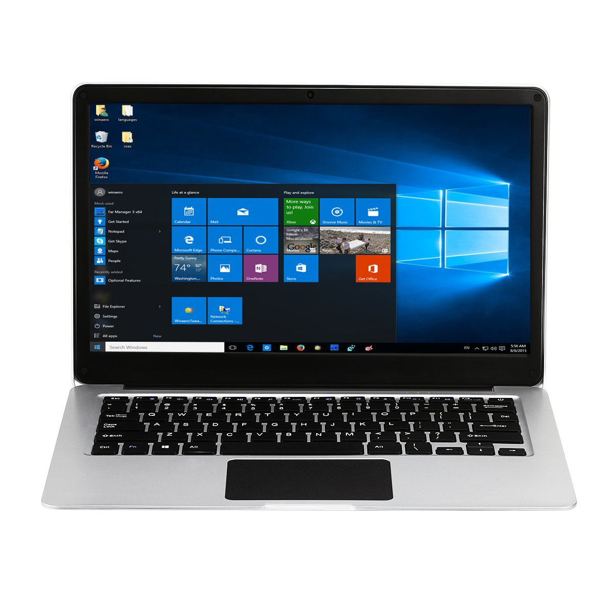jumper Ezbook 3SE -Portátil DE 13.3 Pulgadas(Windows 10 Home Intel Celeron N3350, 3GB RAM 64GB eMMC, 2.0MP Cámara,FHD 1920 * 1080, Supporto WiFi, ...