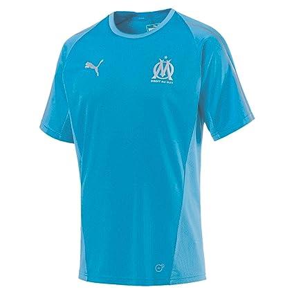 b287ae02e2 Puma Olympique de Marseille Training Jersey SS Without Sponsor Lo Maillot  Homme: Amazon.fr: Vêtements et accessoires