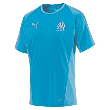 maillot entrainement Olympique de Marseille noir