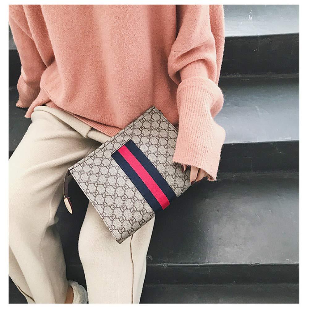 YZJLQML Sac /à Main pour Femme v/êtements pour Dames Occasionnels Sac /à Main Fashion Sauvage Vieux Sac de Carte de Fleur Portefeuille