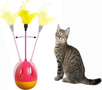 OFKPO Juguete Interactivo para Gato: Amazon.es: Electrónica