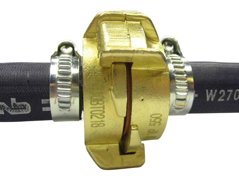 Hochflexibler Trinkwasserschlauch Profiline-Aqua Plus SOFT 13mm 1//2 KTW-A W270 mit GEKA plus Kupplungen montiert kleiner Biegeradius 5-50m L/änge Schlauchl/änge:5m