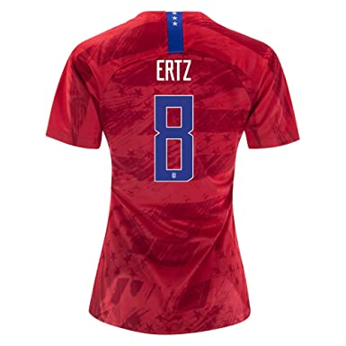 finest selection d4506 11936 8 Julie Ertz Red Womens 2019 World Cup USA Red Soccer Jersey ...