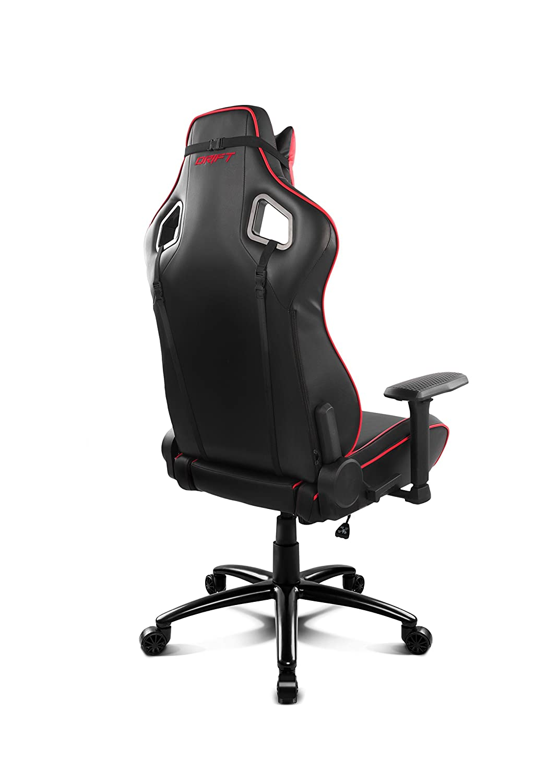 Color Negro//Rojo Polipiel Alta Calidad, Ergon/ómica Silla Gaming Profesional, Drift DR400BR