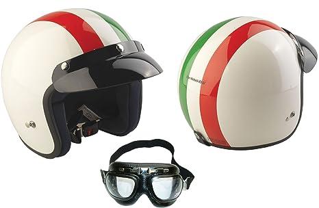 Rs-04 Casco Jet Viper Italian Open Face casco de la motocicleta, motoneta casco