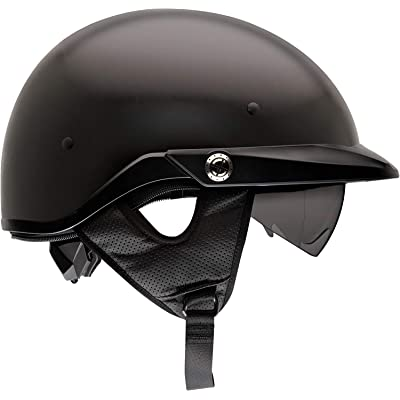 Bell Pit Boss Open-Face Motorcycle Helmet (Solid Matte Black, X-Large/XX-Large): BELL: Automotive